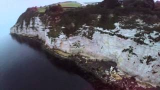 Beer United Kingdom  City new picture : DJI Phantom over Beer Beach, Devon UK