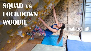 48 DEGREE MEGA BOARD 💪🏽 Squad vs Lockdown Woodie 🍌 | Adventures in Isolation Ep2 by Anna Hazelnutt