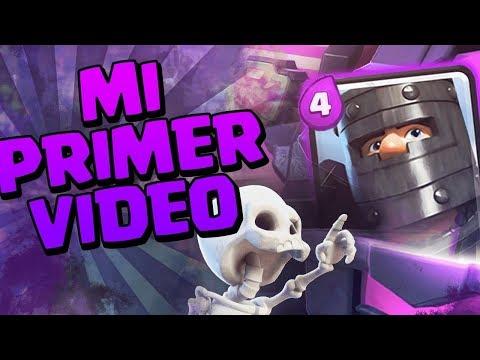 MI PRIMER VIDEO DE CLASH ROYALE