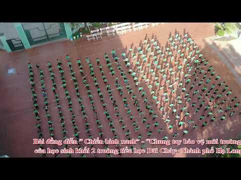"""Bài hát """" Chiến Binh Xanh"""" trường tiểu học Bãi Cháy"""