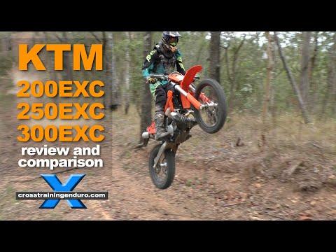 KTM 200EXC 250EXC 300EXC comparison and review︱Cross Training Enduro