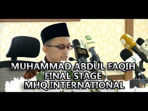 #1 - MUHAMMAD ABDUL FAQIH | (Jawa Tengah) - Recitation - MHQ International | Saudi Arabia | 2017