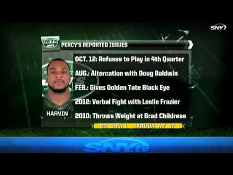 Video: Jets Extra Point: Percy Harvin, Pros and Cons