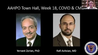 AAHPO Town Hall, Week 18, COVID & CME