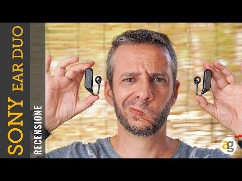 Recensione SONY EAR DUO Cuffie e Assistente VOCALE True Wireless