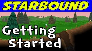 Let's play Starbound Beta! In this episode, we get started with a new Novakid character and tackle the early tutorial quests!