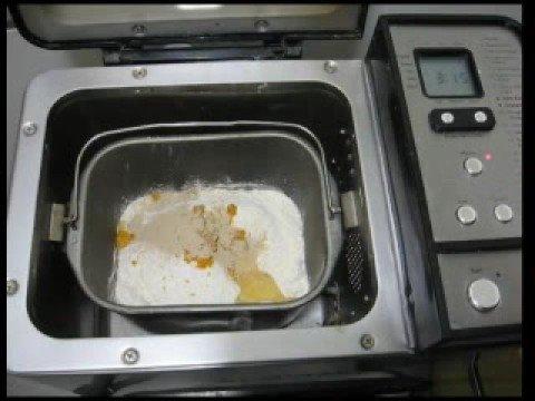 Pan con máquina