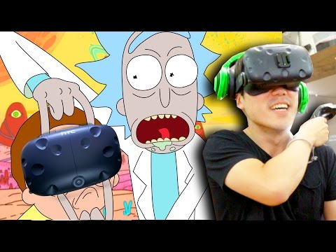 VR Rick and Morty - The FIGHT Of Your Life! (видео)