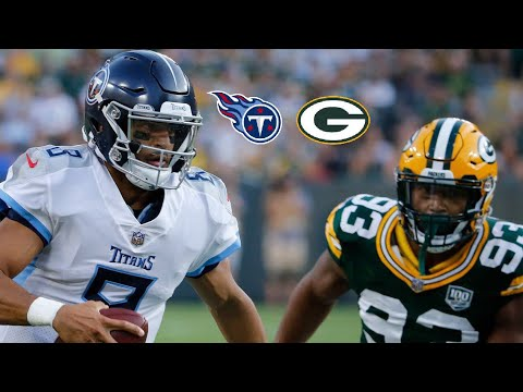 Tennessee Titans NFL Preseason Week 1 Highlights vs Green Bay Packers