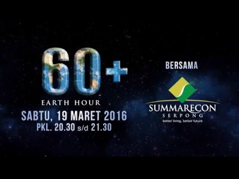 Earth Hour 2016 - Save Our Earth!