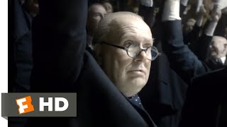 Nonton Darkest Hour (2017) - We Shall Fight on the Beaches Scene (10/10) | Movieclips Film Subtitle Indonesia Streaming Movie Download