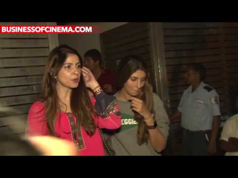 Bollywood Celebs Spotted At Rock On!! 2 Bash
