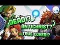 Top 10 Zelda Theories  |  Gnoggin  Feat. Dr. Wily