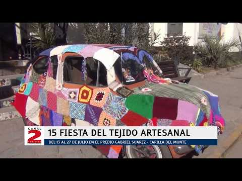 QUEDÓ INAUGURADA SU 15º EDICION: FIESTA DEL TEJIDO ARTESANAL EN CAPILLA DEL MONTE