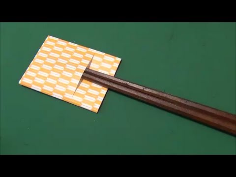 Kitchen Tutorial - 009 -- Chopstick Envelope