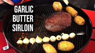 Garlic Butter Beef with Slit Roasted Potatoes by BBQ Pit Boys