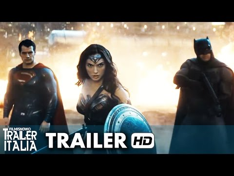 batman v superman: dawn of justice (secondo trailer ita ufficiale)