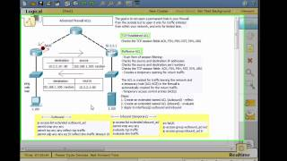 Configure Reflexive ACLs for the CCNA Security - Part 1