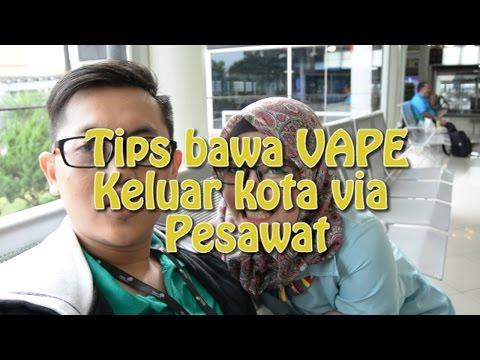 Tips dan Cara bawa VAPE ke Bandara / Airport | Bawa vape keluar kota