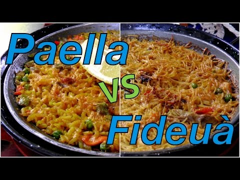 VIDEO: Paella vs Fideuà Taste Test