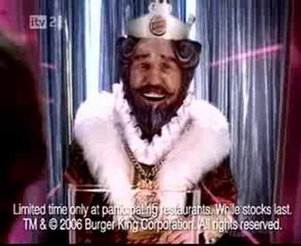 Burger King pole dancing (UK commercial)