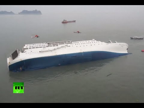 ship - South Korean ferry carrying over 400 people, mostly high school students sank off the southern coast. Leaving 200 plus missing despite a frantic rescue missi...