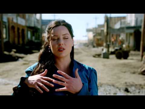 "Klondike: Abbie Cornish ""Belinda Mulrooney"" On Set Interview Part 1"