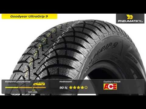 Youtube Goodyear UltraGrip 9 165/70 R14 85 T XL Zimní