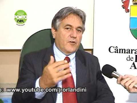 Entrevista com o presidente da Câmara Municipal de Porto Alegre, vereador Nelcir Tessaro (PTB) - Bloco 3
