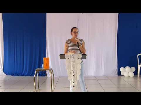 Encontro para Líderes Jovens   2ª Pregação: Santidade / Testemunho de vida (Nathalia Batschauer)