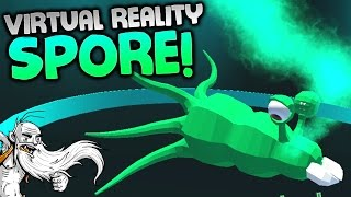 """""""SPORE IN VIRTUAL REALITY?!?"""" - Evolution VR Gameplay Let's Play Walkthrough"""