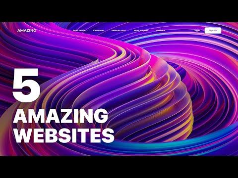 5 Inspirational Website Designs for 2021