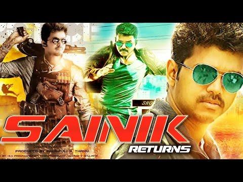 Sainik Returns Full Movie (2016) | Hindi Dubbed Movies 2016 | Vijay | New Action Hindi Full Movie