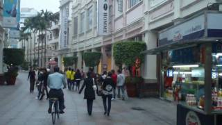 Zhongshan China  City new picture : Walking Street in Downtown Zhongshan. Guangdong, China