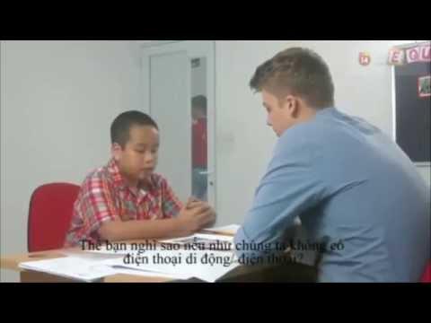 Cách trả lời phỏng vấn Tiếng Anh của thần đồng Đỗ Nhật Nam.
