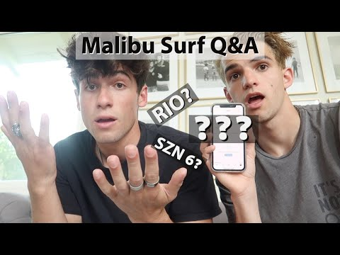 MALIBU SURF Q&A (Ft Rio Sage and Joey Itkin)