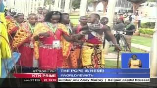 Pope Francis Asks Kenyans To Embrace Tolerance And Pursue Fairness In Order To Nurture Peace