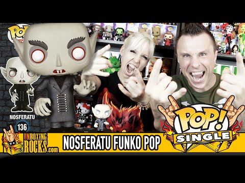 POP SINGLE: NOSFERATU Funko Pop Vinyl Unboxing Review