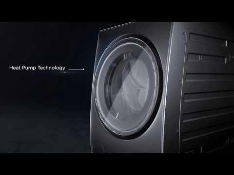 TOSHIBA TWD-DUJ130X4V - Máy giặt sấy bơm nhiệt