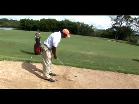 Golf pro tip: bunker shot