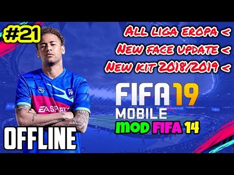 Fifa 14 Mod Fifa 19 (mini Size) Grafik Hd) | Game Android Offline #21