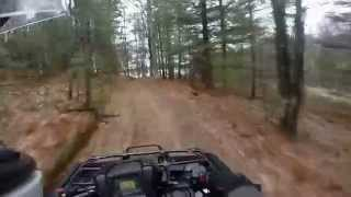 8. 2015 Honda Foreman 4x4 trail ride