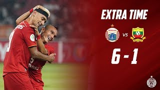 PERSIJA JAKARTA 6 - 1 SHAN UNITED [AFC Cup 2019] | Extra Time