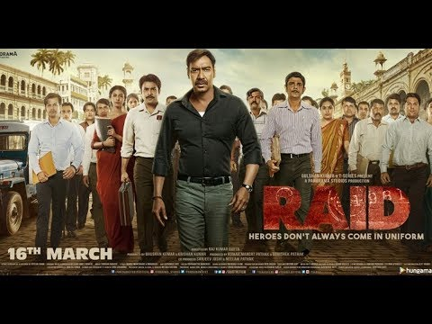 RAID (FULL MOVIE) FULL HD BLURAY II AJAY DEVGUN