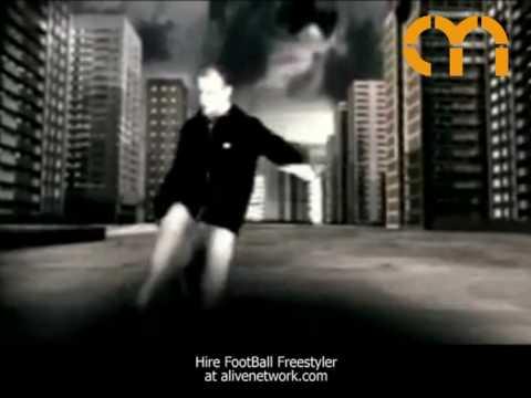 Video Football Freestyler Circus Performer London