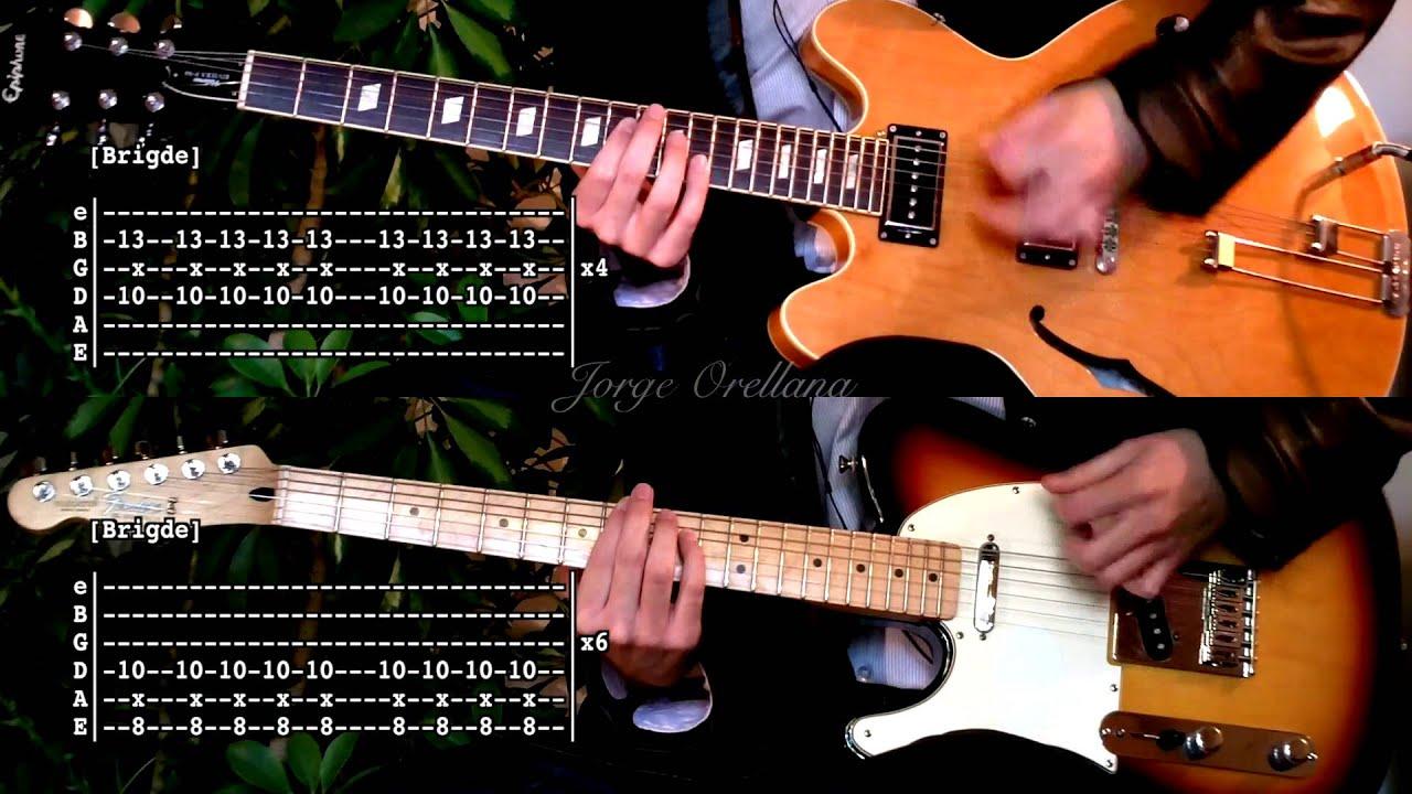 Last Nite – The Strokes ( Guitar Tab Tutorial & Cover ) [Tabs on video version]