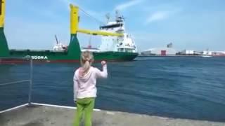 Kaget Klakson Kapal (Ship Horn)