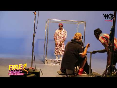 Diamond Platnumz - Fire ( Behind The Scene part 3)
