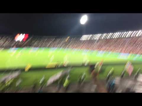 INDEPENDIENTE SANTA FE 2- Medellín 0, cuartos de final liga águila 2 2016, LA GUARDIA ALBI-ROJA SU - La Guardia Albi Roja Sur - Independiente Santa Fe - Colombia - América del Sur