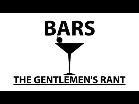 Názor gentlemanů na bary